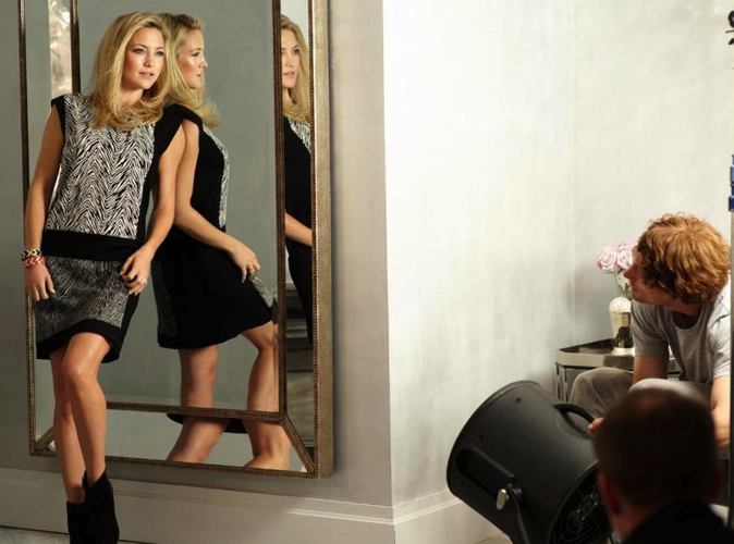 Mode : Kate Hudson: Au top pour Ann Taylor...
