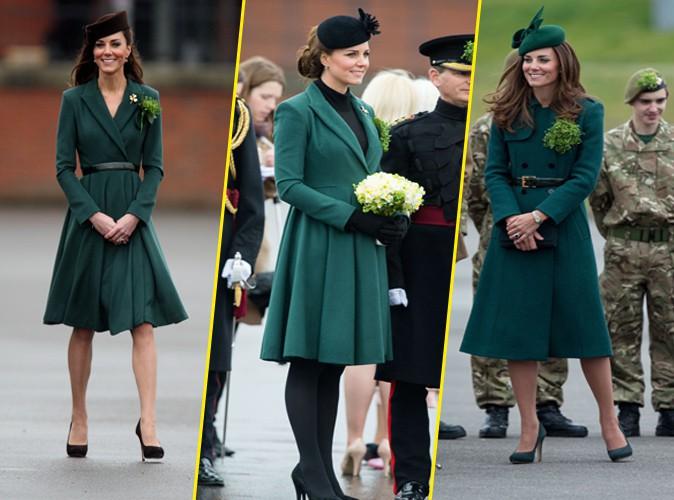 Kate Middleton : la reine du recyclage s'est permis un écart pour la Saint-Patrick !