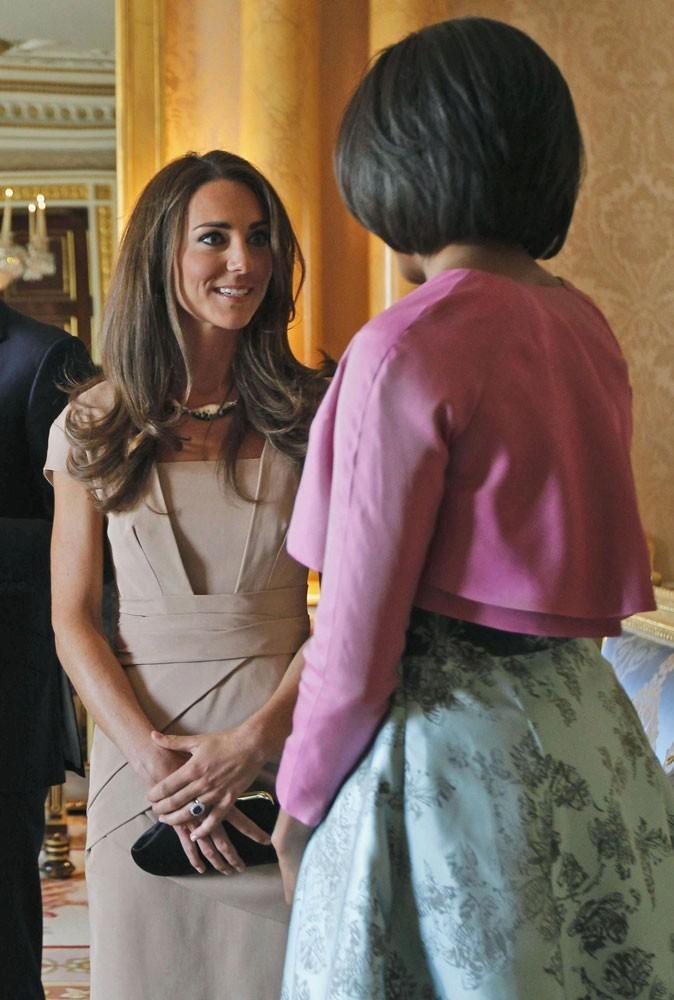 Michelle Obama est une fan du collier de Kate Middleton !