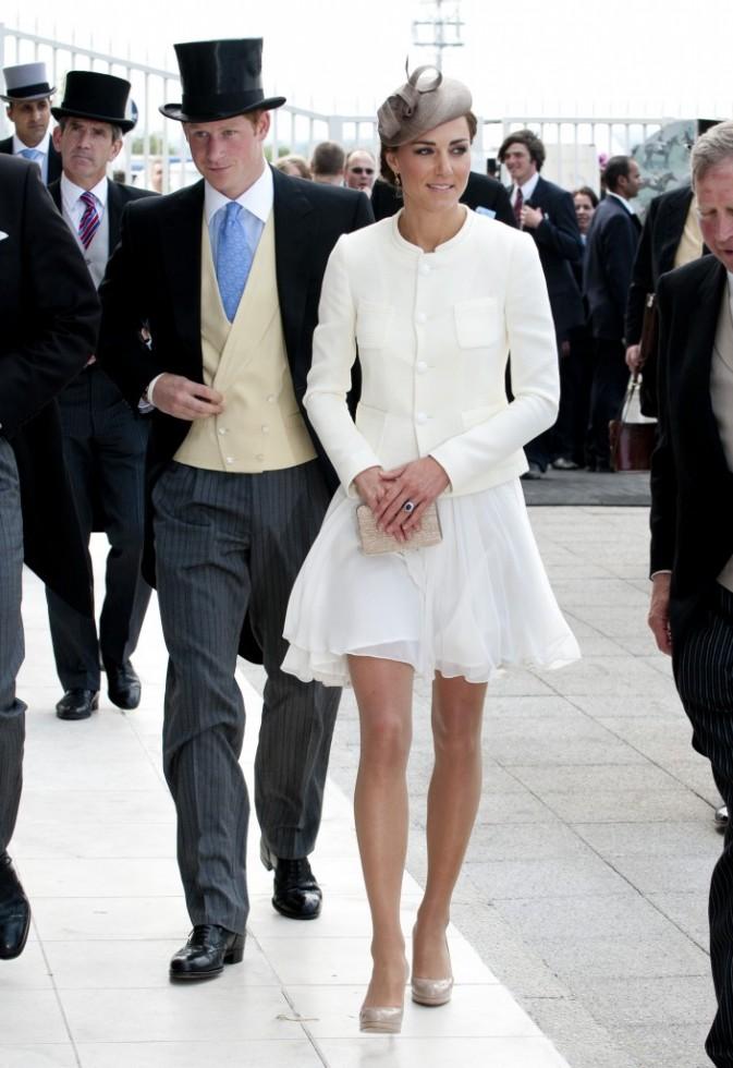 Kate Middleton au Derby d'Epsom le 4 juin 2011, à Londres