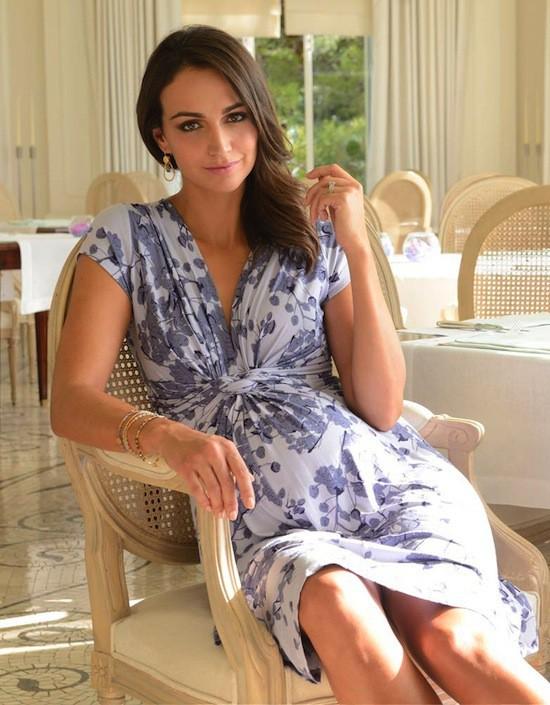 La robe Blossom de Seraphine portée par Kate Middleton