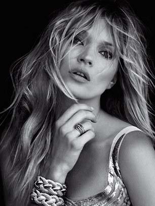 Kate Moss pour la campagne David Yurman