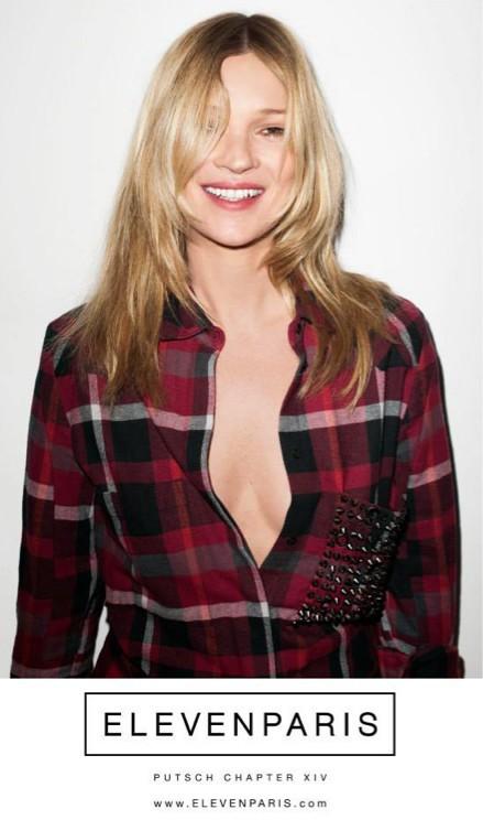 Kate Moss pour Eleven Paris !