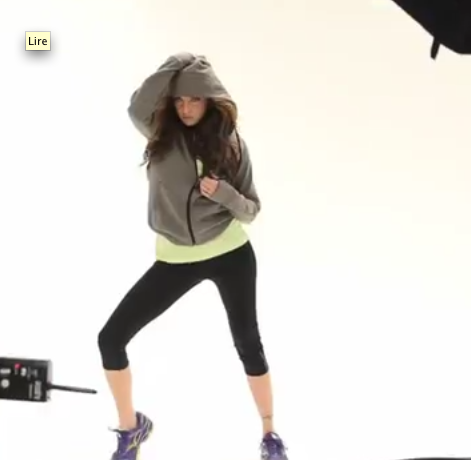 Katie Cassidy pour Foot Locker !