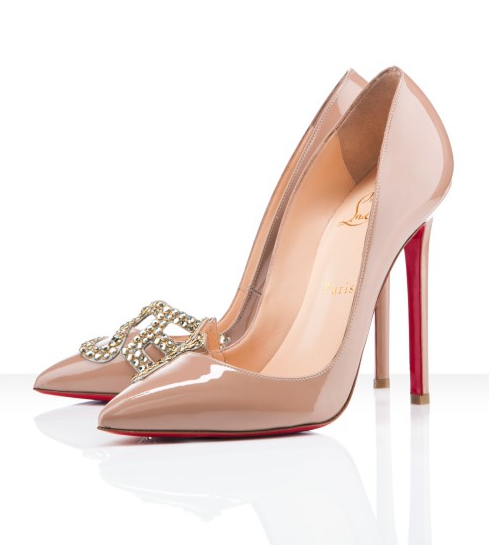 Les Sex 120 nude by Christian Louboutin