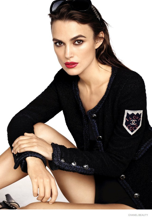 Mode : Keira Knightley : Parisienne chic dans une nouvelle campagne Chanel !