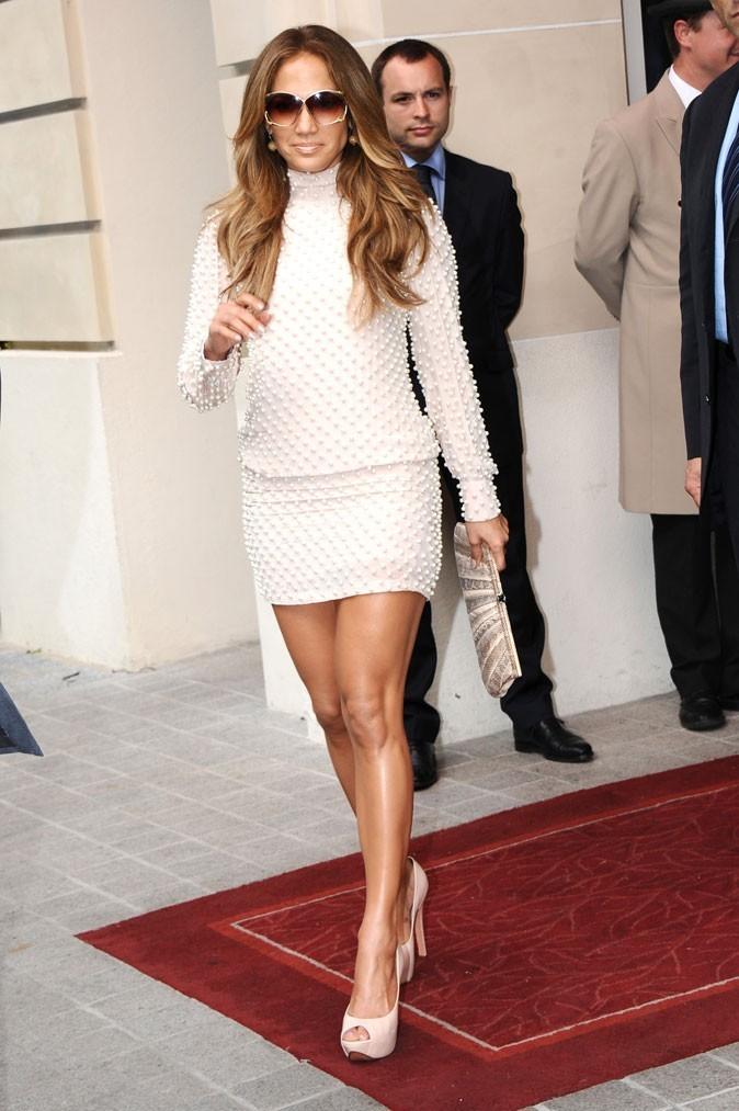 Sur la deuxième marche du podium... La hot mama Jennifer Lopez !