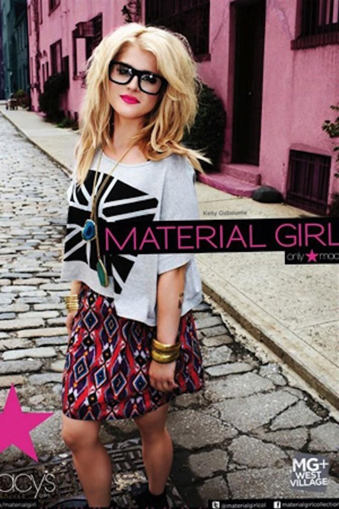 Kelly Osbourne est le visage de Material Girl pour la deuxième fois !