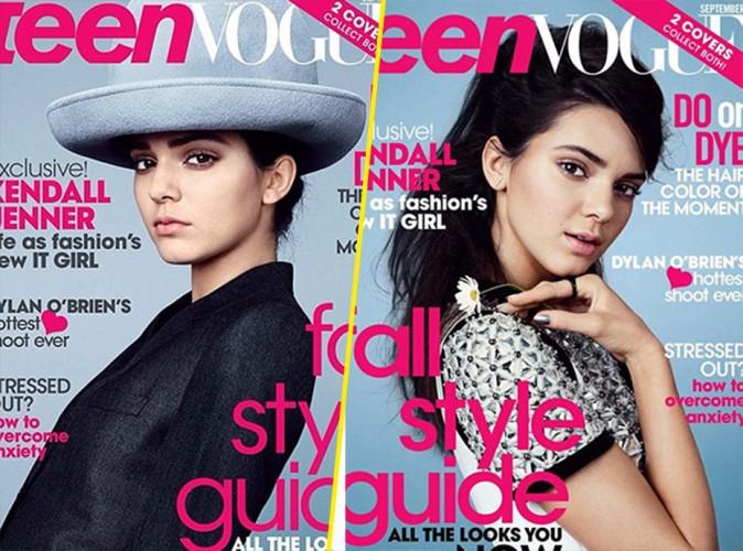 Kendall Jenner s'offre deux couvertures pour le magazine Teen Vogue du mois de Septembre 2014.
