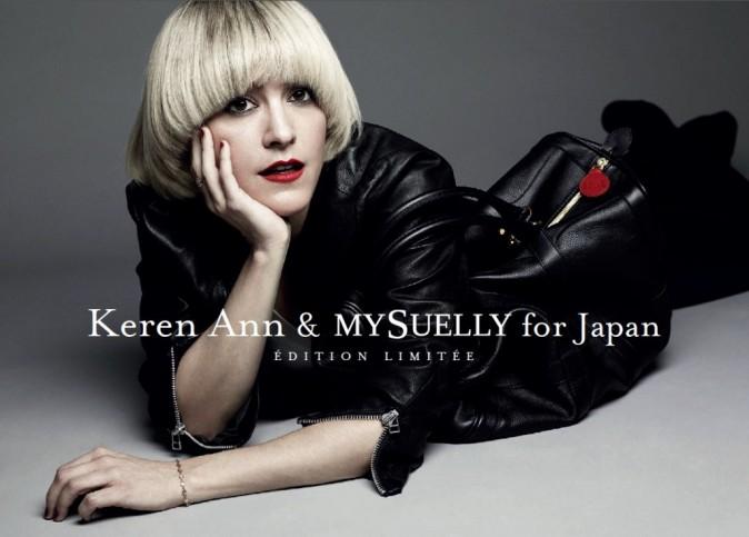 Keren Ann pour MySuelly en faveur du Japon