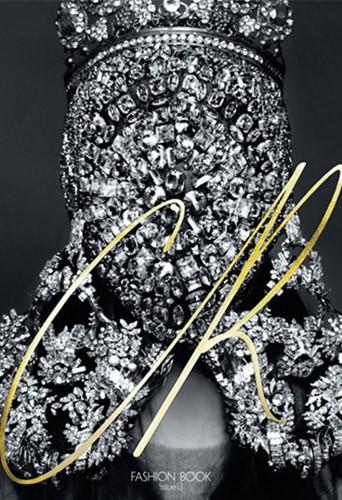 Kim Kardashian en couverture du CR Fashion Book de Carine Roitfeld !