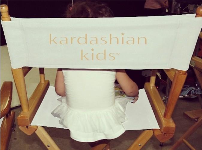 Découvrez les photos backstages de la première ligne Kardashian Kids !