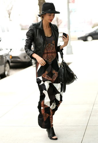 Lily Aldridge le 21 mars à New York