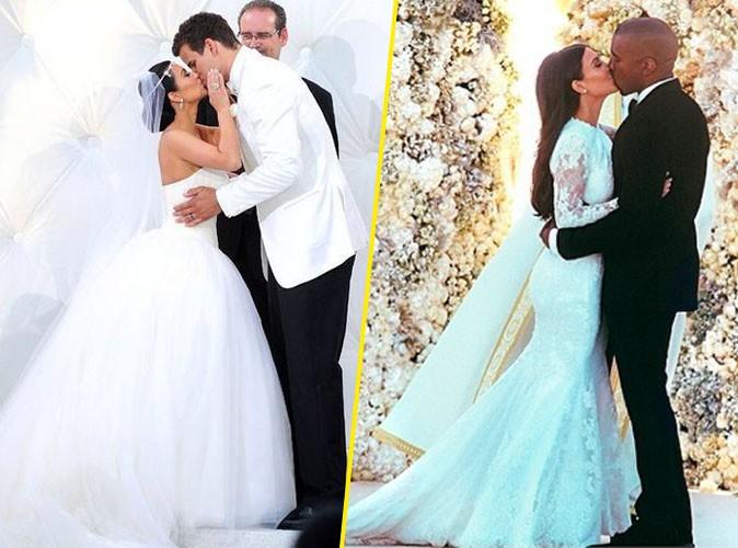 Robe de mariage kim kardashian for Robes de renouvellement de voeux de mariage taille plus