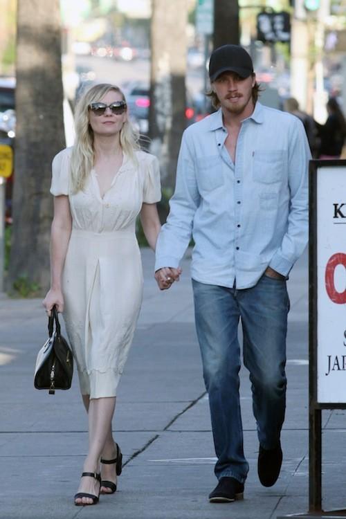 Kirsten Dunst et son boyfriend !
