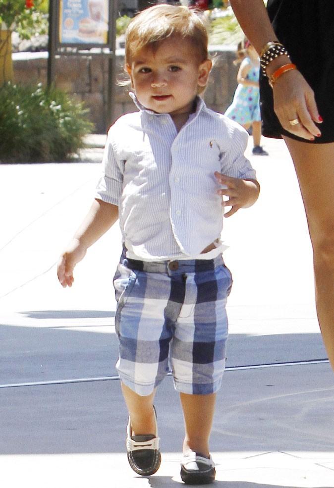 Le bermuda à carreaux de Mason Kardashian !