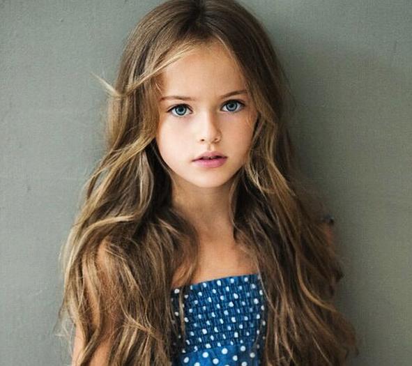 Mode : Kristina Pimenova : 9 ans et top model... Découvrez les photos ...