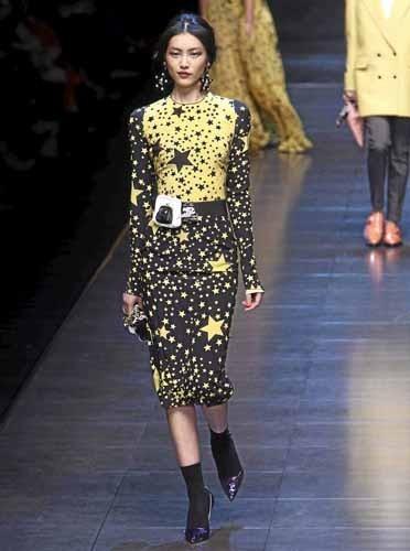La robe Dolce & Gabbana de Fergie