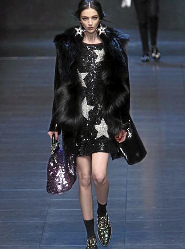 La robe Dolce & Gabbana de Naomi Campbell