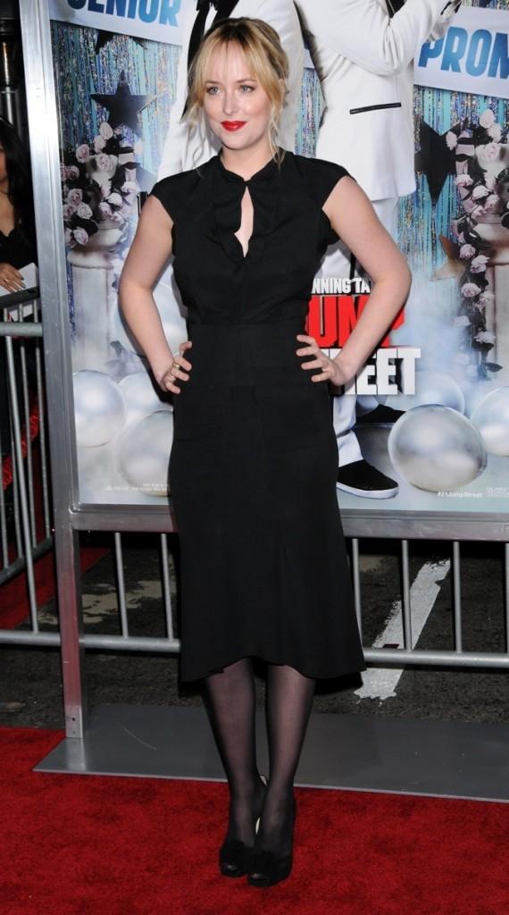 Dakota Johnson en 2012