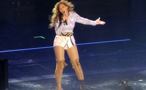 Beyoncé en look made in Emilio Pucci