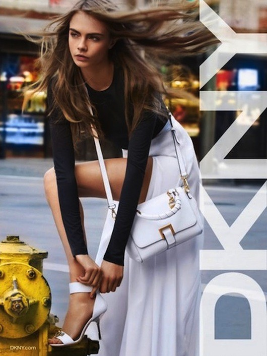 Cara Delevingne pour DKNY