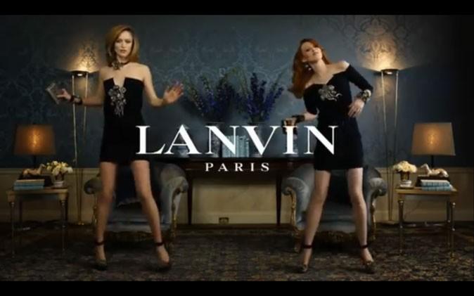 Un spot Lanvin qui détonne !