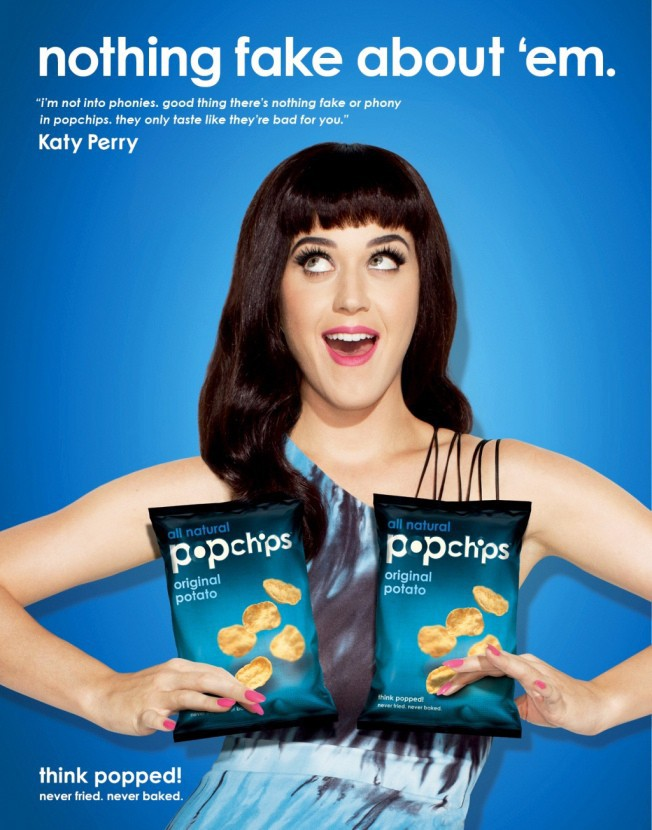 Katy Perry x Popchips
