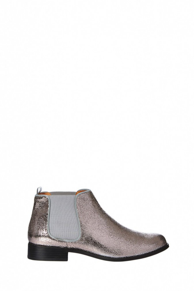 Boots en cuir craquelé, Mellow Yellow sur monshowroom.com 99 €