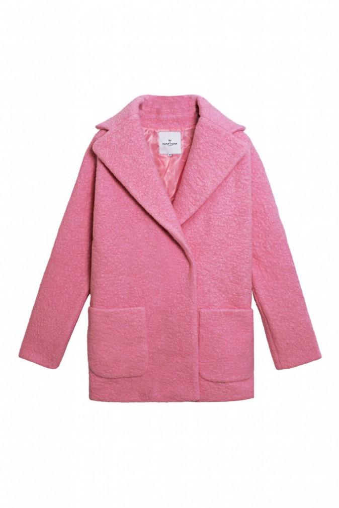 Manteau en laine bouillie, N by Naf Naf, sur lahalle.com 99 €