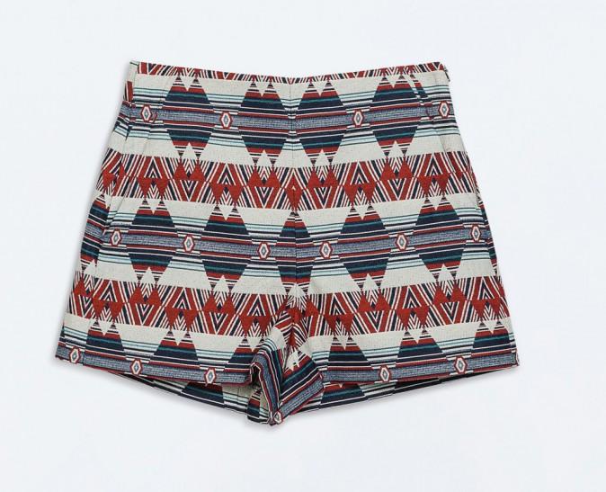 Short aztèque, Zara 40 €