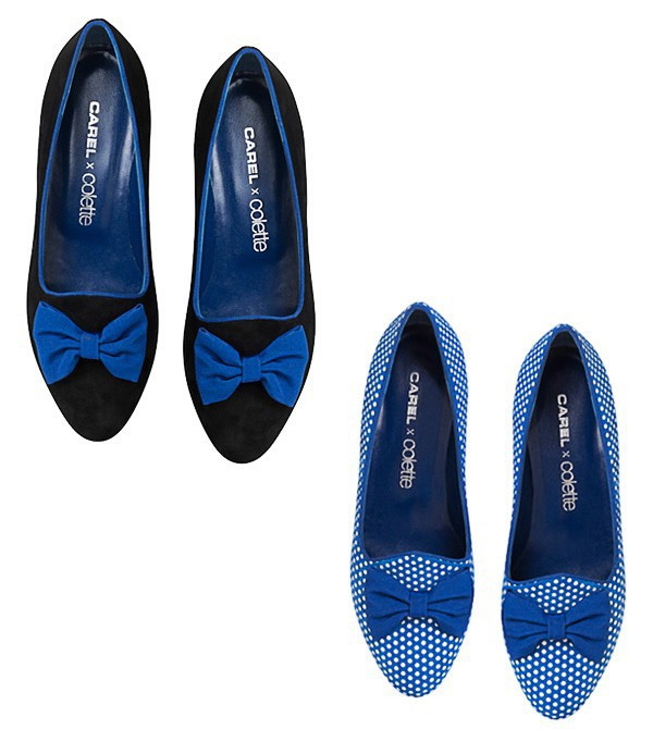 Slippers à noeuds, Carel x Colette 265€
