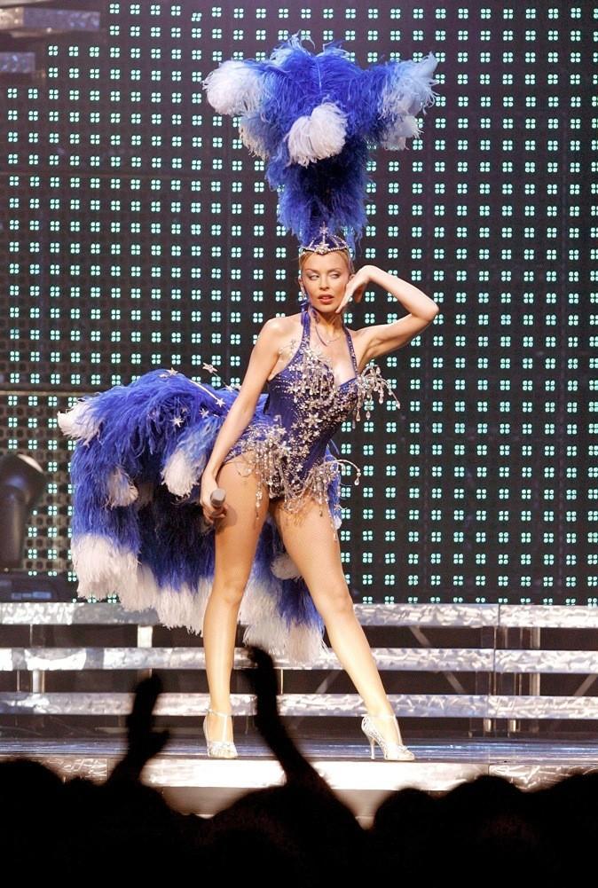 Kylie Minogue, prête pour le Lido
