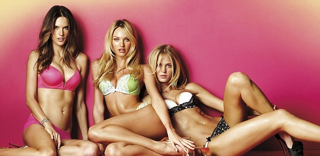 Candice Swanepoel, Erin Heartherton et Alessandra Ambrosio pour la collection Very Sexy de Victoria's Secret