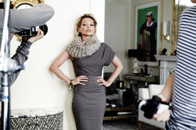 Kate Moss, le chic et l'élégance faits femme !