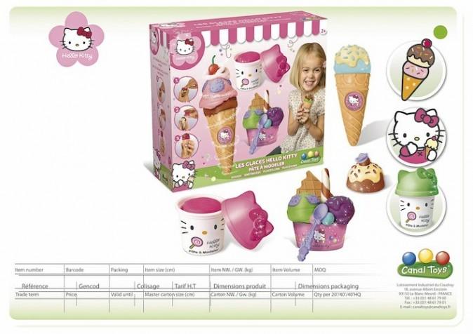 Glaces à modeler Hello Kitty, Canal Toys sur toysrus.fr (livraison en 24 h)