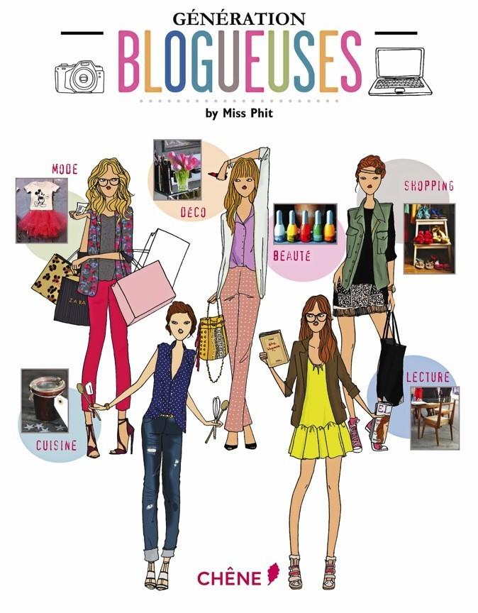 Génération Blogueuses, Éditions du Chêne 18,90 €