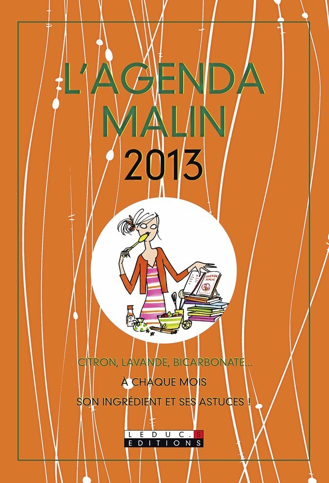 L'agenda malin 2013, Éditions Leduc 12 €