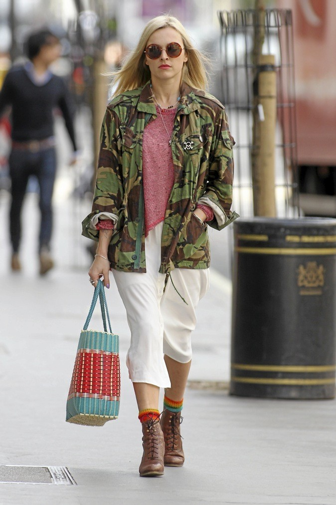 La veste mili cool de Fearne Cotton !