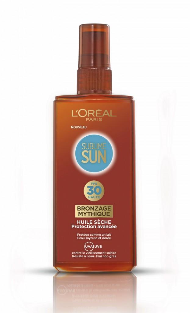 Huile Sublime Sun de l'Oréal !