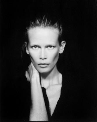 Photomaton de Karl Lagerfeld au dîner de l'amfAR : Claudia Schiffer !
