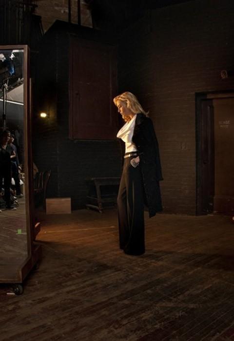 Kate Winslet sur le shooting de la campagne St. John !
