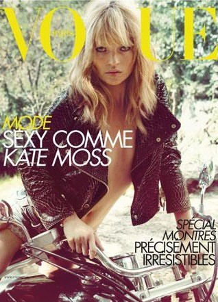 La couverture du Vogue France en Avril 2008 !