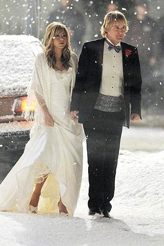 Jennifer Aniston, un mariage sous la neige !