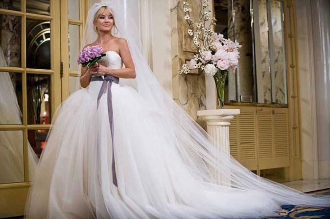 Kate Hudson, sa magnifique robe de mariée