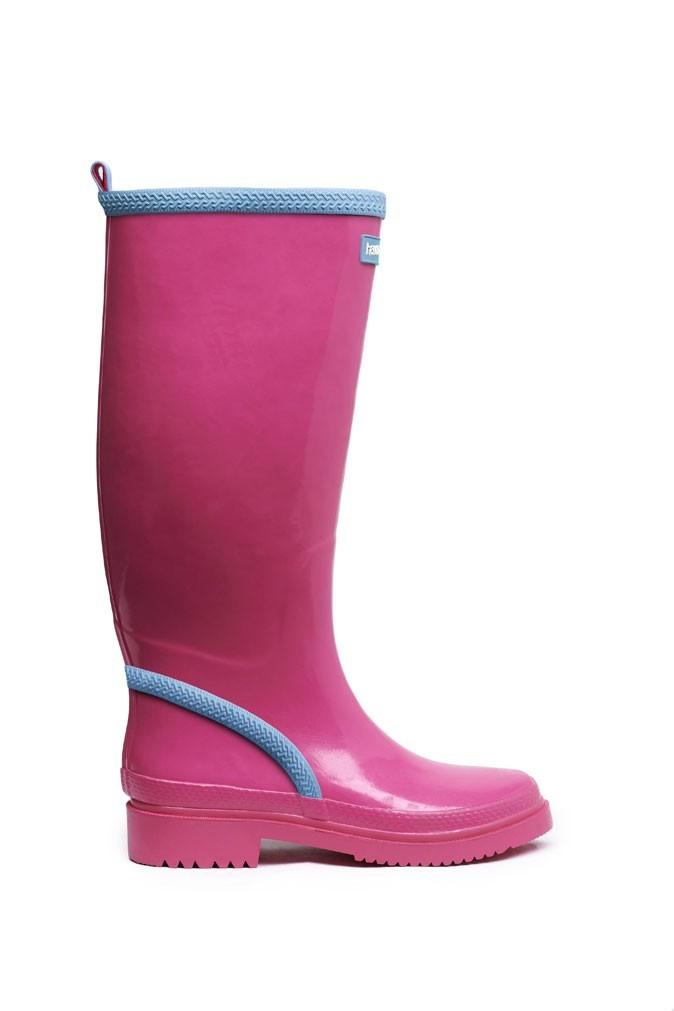 Mode : des rain boots Havaianas roses