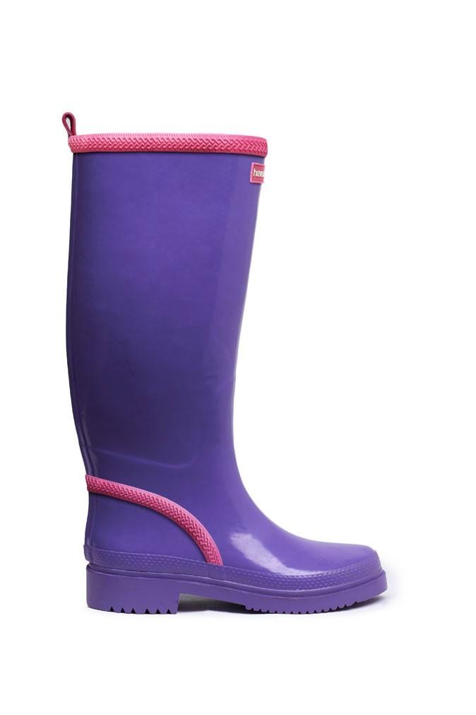 Mode : des rain boots Havaianas violettes