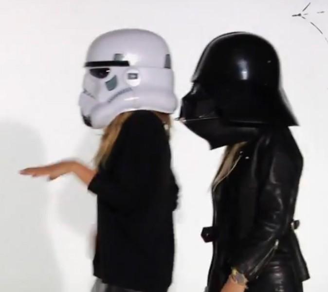 Les personnages de Star Wars s'éclatent !