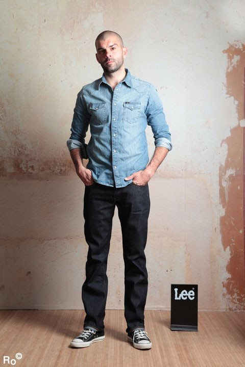 Mode : DJ Pone prend la pose pour Lee pendant le Festival de Cannes 2011 !
