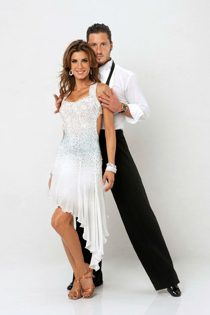 La photo en couple d'Elisabetta Canalis pour Dancing with the Stars !